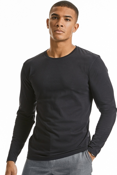 PURE ORGANIC LONG SLEEVE T