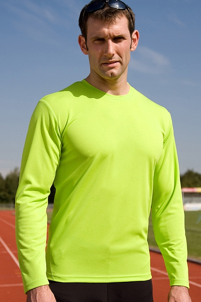 MENS QUICK DRY PERFORMANCE LONG SLEEVE T-SHIRT
